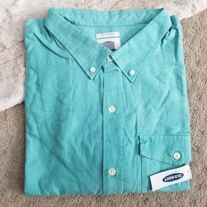 NWT Old Navy L/S Casual Button Down • sz 3X